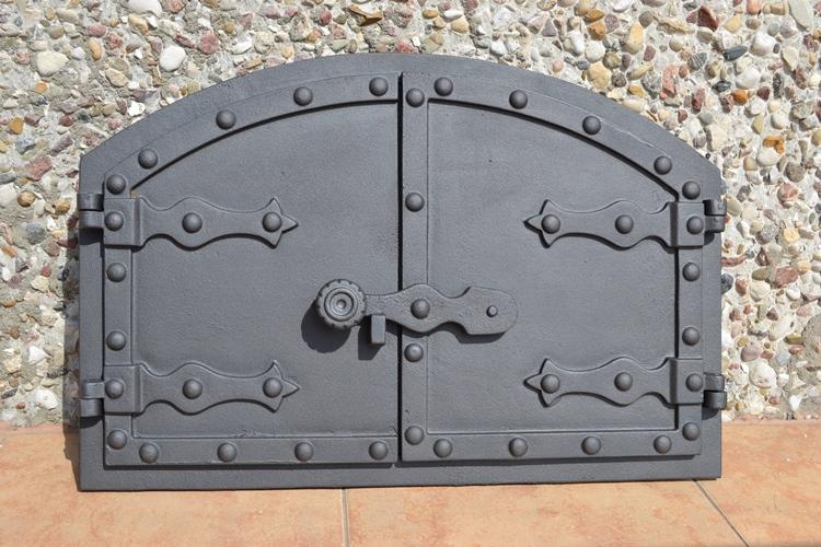 Silver Oven Door Paint