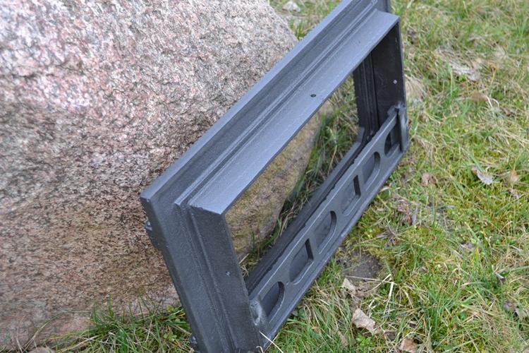 50x30,5cm Backofentür Holzofentür Ofentür Gusseisen